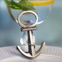 """Anchor"" Nautical-Themed Bottle Opener"