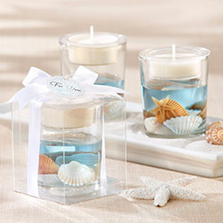 """Seashell"" Gel Tea Light Holder"
