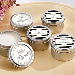 Personalized Travel Candle - Classic