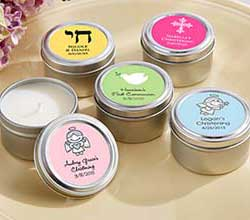 Personalized Travel Candle - Religious