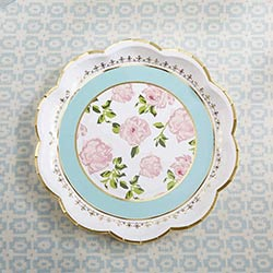Tea Time Whimsy Premium Paper Plates