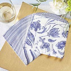 Blue Willow Paper Napkins (Set of 30)