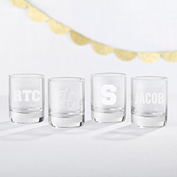 Personalized 2 oz. Shot Glass - Engraved