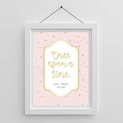 Personalized Poster (18x24) - Princess Party